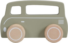 Little Dutch Houten Bus Olive