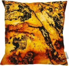 Swan Spring Raw Earth Rusty | Kussen | Oranje | Geel | Zwart | 45 x 45cm