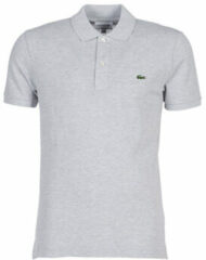 Grijze Polo Shirt Korte Mouw Lacoste PH4012 SLIM