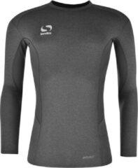 Sondico ondershirt Lange mouw - Heren - Gemeleerd grijs - Maat XL