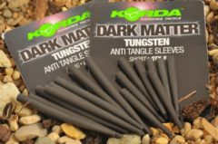 Zwarte Korda Dark Matter Tungsten Anti Tangle Sleeves - Short