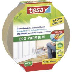 Zilveren Tessa Tesa afplakband voor scherpe en schone verfranden 'Eco Permium' 50 m x 38 mm