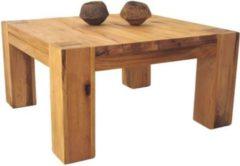 Möbel Ideal Couchtisch Braxton 70x70 in Eiche massiv Natur geölt