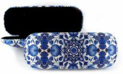 LANZFELD Brillenkoker, Delfts blauwe tulpentegels