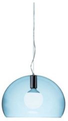 Kartell FL/Y pendellamp KA 9053K2 Transparant lichtblauw