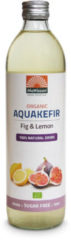 Mattisson Organic aquakefir fig & lemon 500 Milliliter