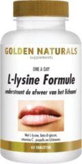 Golden Naturals L-lysine Formule (60 vegetarische tabletten)