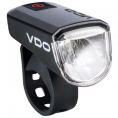 Zwarte VDO Koplamp ECO Light M30 koplamp, Fietslamp,