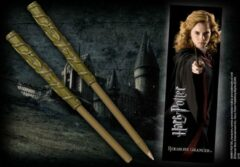 Bruine Noble Collection Harry Potter Hermione Granger Wand Pen and Bookmark