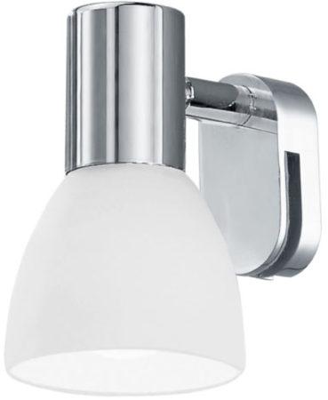 Afbeelding van Witte EGLO Sticker - Spiegellamp - 1 Lichts - Chroom - Wit