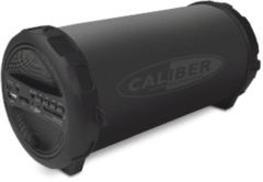 CALIBER Bluetooth speaker HPG407BT - zwarte portable speaker met FM radio, SD,aux in en oplaadbare accu / bestseller