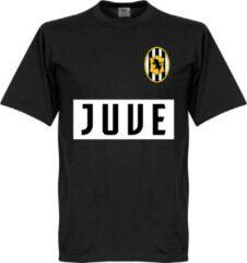 Merkloos / Sans marque Juventus Team T-Shirt - Zwart - 5XL