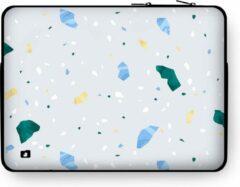 """DuckZip Laptophoes 15 inch – Macbook Sleeve 15"""" - Terrazzo N°2"""