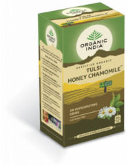 Organic India Tulsi honey chamomile thee bio 25 Stuks