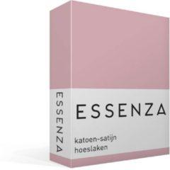 Paarse Essenza Hoeslaken Satijn Lila-1-persoons (90x200 Cm)