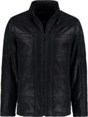 Donkerblauwe DNR 42750 385 Leren jas - Maat 56 - Heren