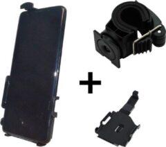 Zwarte Haicom Fietshouder houder voor Samsung Galaxy S4 Mini i9190 HI-279