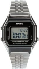 Zilveren Casio Collection LA680WEA-1EF - Horloge - Staal - Zilverkleurig - Ø 30 mm