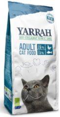 Yarrah cat biologische brokken vis (msc) zonder toegevoegde suikers kattenvoer 6 kg