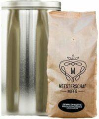 Meesterschap koffie Meesterschap | Snelfilter koffie | Medium roast | Blik 4 x 1,25 kg
