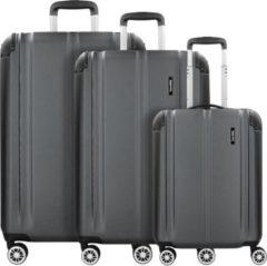 City 4-Rollen Kofferset 3tlg. Travelite anthrazit