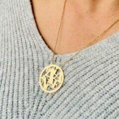 Goudkleurige Petit collection Collier Balance