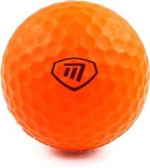 Masters Golf golfballen Lite Flite foam oranje 6 stuks