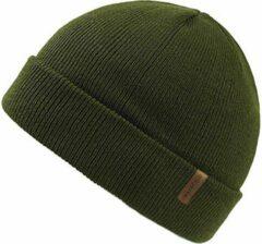 Forest Muts Groen - Groene Beanie - Wakefield Headwear - Mutsen