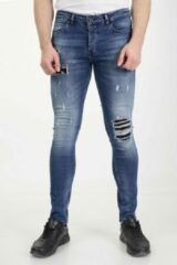 Blauwe Marshall Denim Jeans heren 2203/29 MarshallDenim