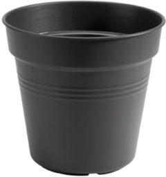 Groene Elho groen basics kweekpot 13cm living black