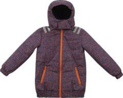Donkerblauwe Ducksday - winterjas met teddy voor kinderen unisex - Soho - 98/104