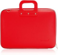 Rode Bombata Classic Hardcase Laptoptas 15 inch Red