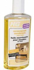 Witte HG meubelolie teak - 140ml - voor gelakt en ongelakt hout