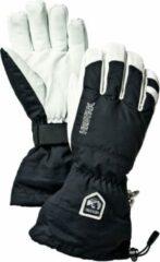 Hestra - Army Leather Heli Ski 5 Finger - Handschoenen maat 10, zwart/wit/grijs