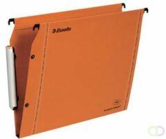 Hangmappen voor kasten 33 cm Premium kraft LMG Esselte bodem 15 mm oranje