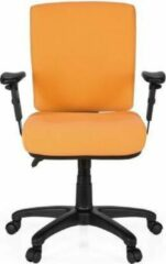 Hjh OFFICE Zenit Base - Professionele bureaustoel - Oranje - Stof