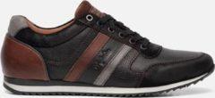 Zwarte Australian Footwear cornwall leather 15.1351.04 black/cognac