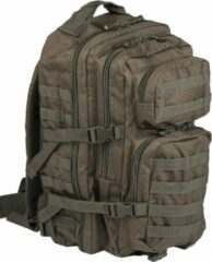 Groene Miltec US Assault pack Molle rugzak Olive ca 36 L