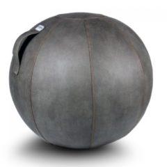 Zitbal Veel - Mud - polyester met lederlook - Ø60-65 - Vluv