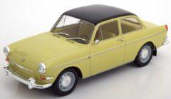 Beige Volkswagen 1500 S Typ 3 1963 - 1:18 - Modelcar Group