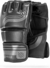 Sanabul Sports Sanabul Core Series 4 oz MMA handschoenen - zwart en metaal - L/XL