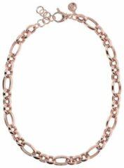 Bronzallure Fancy Oval Rolo necklace WSBZ01221R
