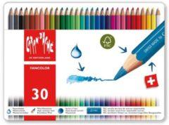 Alles Voor Kleuren Kleurpotloden Caran d'Ache Fancolor 30 stuks