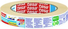 Tesa 604765 Schilderstape tesa Krepp Beige (l x b) 50 m x 19 mm 1 rol/rollen