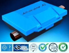 Blauwe Waterontharder All-in-one XL | Magneet ontharder | Waterontkalker | Waterverzachter| Waterleiding Waterontharder | Waterfilter | > 20.000 Gauss