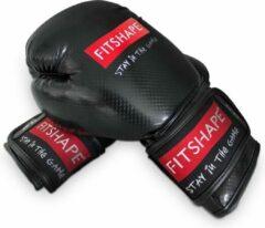Fitshape kick/bokshandschoenen Puncher Kevlar zwart