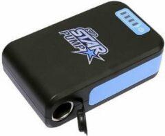Blauwe Star Pump Powerbank - Externe accu - Elektrische Pomp - Opblaasbare supboard