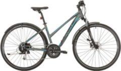 28 Zoll Damen Trekking Fahrrad 27 Gang Sprint Sintero Urban... grau-blau, 48cm