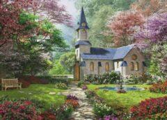 Eurograph Puzzel 1000 stukjes-Blooming garden