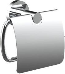 Douche Concurrent Toiletrolhouder Rondo 15x11.6cm Messing Chroom